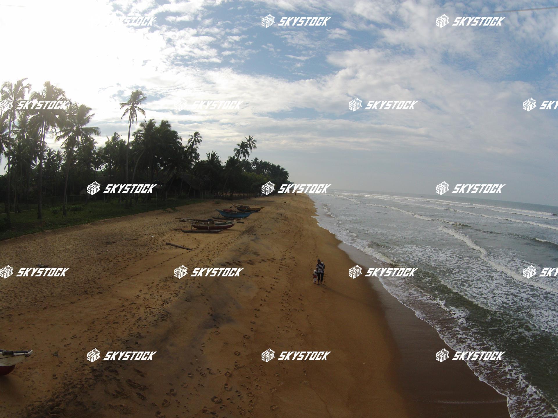 スリランカ海
